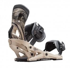 Legaturi snowboard barbati Now Drive Sand Crem/Negru 2019