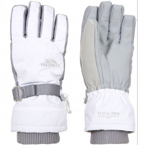 Manusi ski femei Trespass Vizza II White