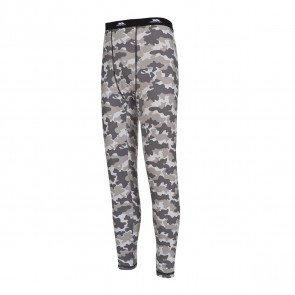 Pantaloni termali barbati Trespass Train Grey