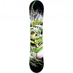 Placa snowboard copii Trans Pirate JR Fullrocker Verde 2019