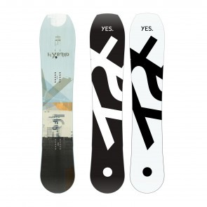 Placa snowboard de Powder pentru barbati YES Hybrid 2020