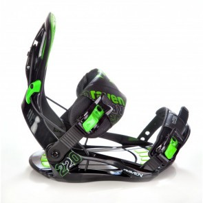 Legaturi snowboard Raven S220 Negru/Verde