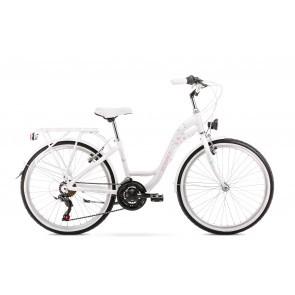 Bicicleta pentru copii Romet Panda 1.0 Alb 2020