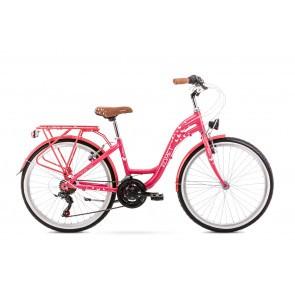 Bicicleta pentru copii Romet Panda 1.0 Roz 2020