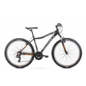 Bicicleta de munte pentru copii Romet Rambler R6.0 Jr Negru/Portocaliu 2020