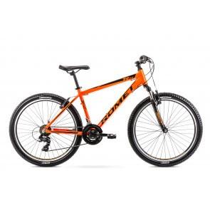 Bicicleta de munte pentru barbati Romet Rambler R6.0 Portocaliu 2020