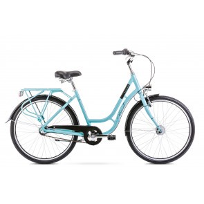 Bicicleta de oras pentru femei Romet Turing 3S Verde 2020