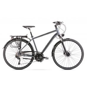 Bicicleta de trekking/oras pentru barbati Romet Wagant 9 Gri 2020