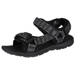 Sandale unisex Hannah Feet Negru/Gri
