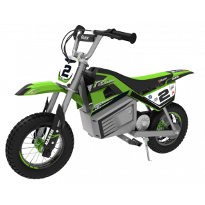 Motocicleta electrica pentru copii Razor SX350 Dirt Rocket McGrath Verde