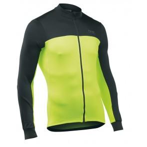 Tricou ciclism Northwave lung Force 2 Negru/Verde