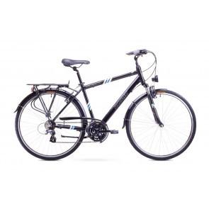 Bicicleta trekking/city pentru barbati Romet WAGANT 1 Negru 2018