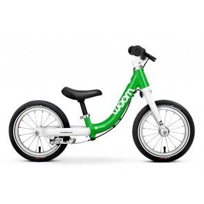 Bicicleta fara pedale pentru copii Woom 1 Classic Verde