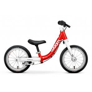 Bicicleta fara pedale pentru copii Woom 1 Classic Rosu