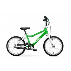 Bicicleta pentru copii Woom 3 Verde