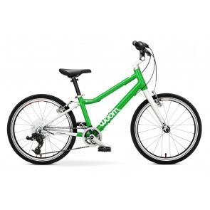Bicicleta pentru copii Woom 4 Verde
